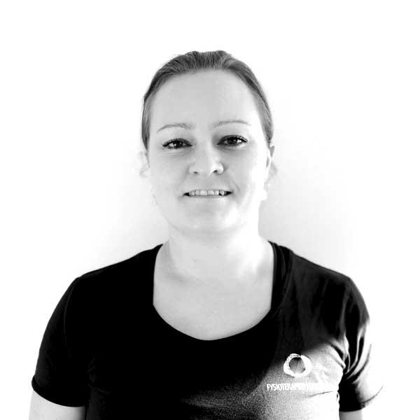 Gitte Skov Frandsen, Fysioterapeut