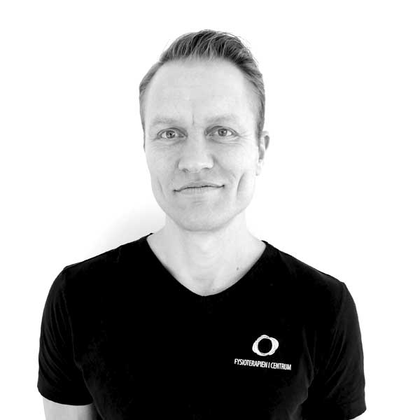Henrik Juel Jensen, Fysioterapeut