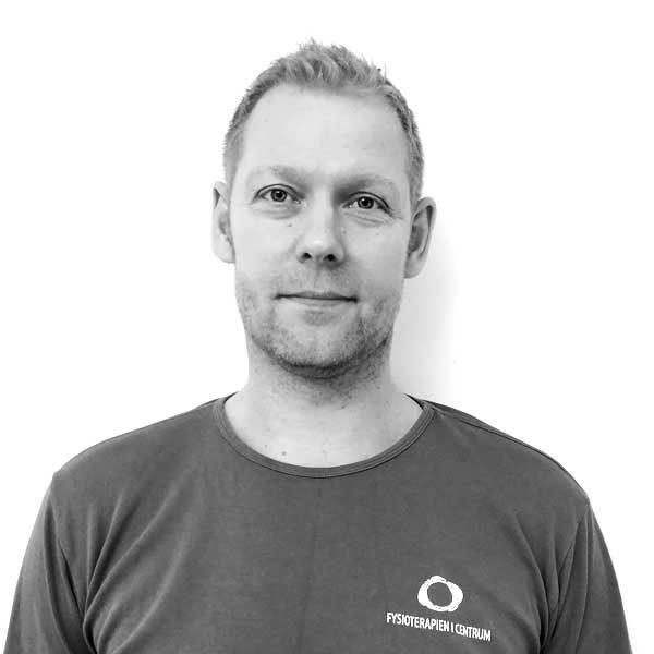 Kasper Sander, Fysioterapeut